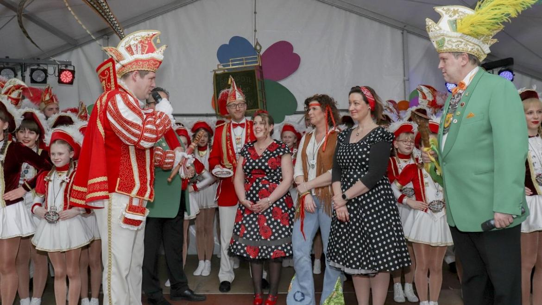 Breijpott Quaker begeisterten auf Clivia Karnevalsfeier